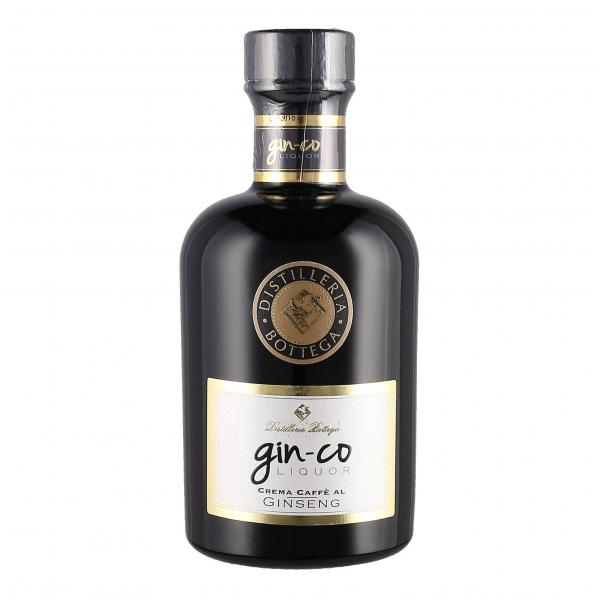 Bottega - Gin-Co Liquor Bottega - Crema di Caffè al Ginseng Bottega - Liquori e Distillati