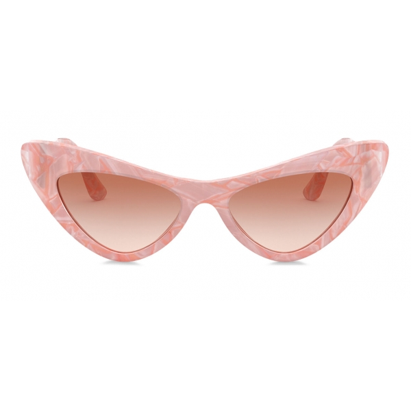 Dolce & Gabbana - Devotion Sunglasses - Pink - Dolce & Gabbana Eyewear