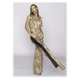 Leda Di Marti - Smanicata Suit - Leda Collection - Haute Couture Made in Italy - Luxury High Quality Dress