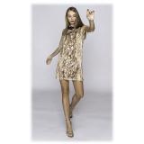 Leda Di Marti - Abito Medusa Raso - Leda Collection - Haute Couture Made in Italy - Abito di Alta Qualità Luxury