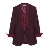 Leda Di Marti - Jacquard Jacket - Leda Collection - Haute Couture Made in Italy - Luxury High Quality Jacket