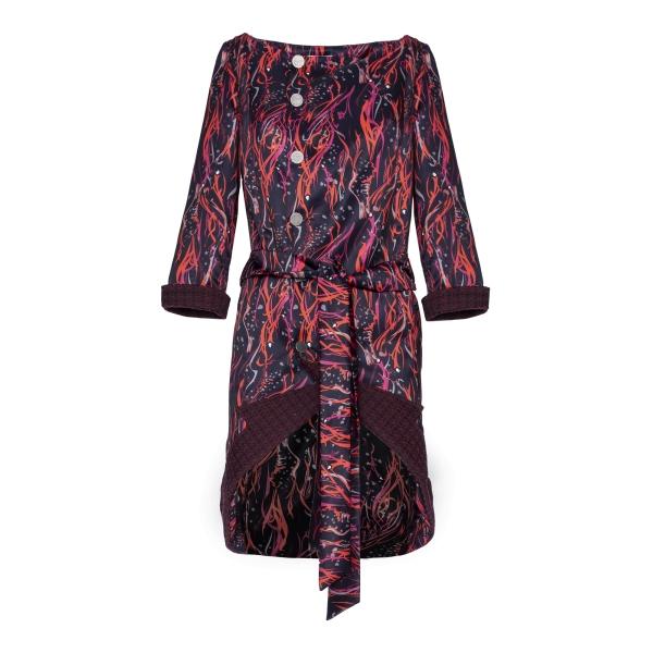 Leda Di Marti - Abito Giacca Rosso - Leda Collection - Haute Couture Made in Italy - Abito Giacca di Alta Qualità Luxury