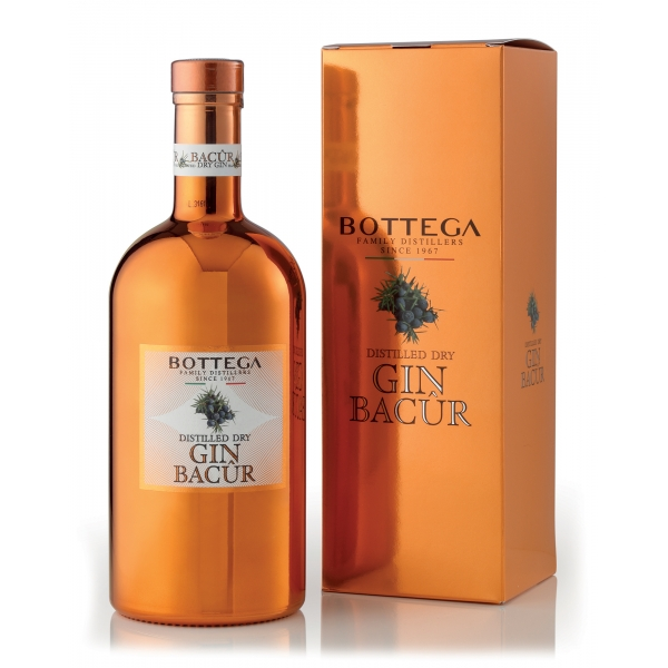 Bottega - Bacur Gin Bottega - Distilled Dry Gin - Box - Large - Liqueurs and Spirits