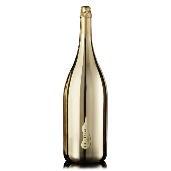 Bottega - Gold - Prosecco D.O.C. Spumante Brut - Mathusalem - Limited Edition con Pennarello - Luxury Limited Edition Prosecco