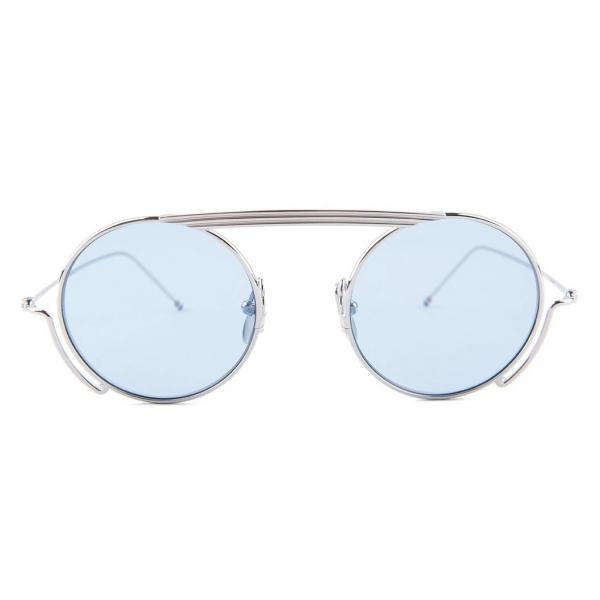 Thom Browne - Round Frame Sunglasses - Thom Browne Eyewear