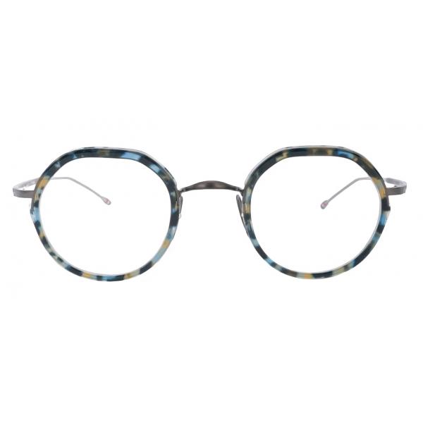 Thom Browne - Occhiali Rotondi a Guscio di Tartaruga - Thom Browne Eyewear