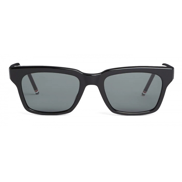 Thom Browne - Black Wayfarer Sunglasses - Thom Browne Eyewear