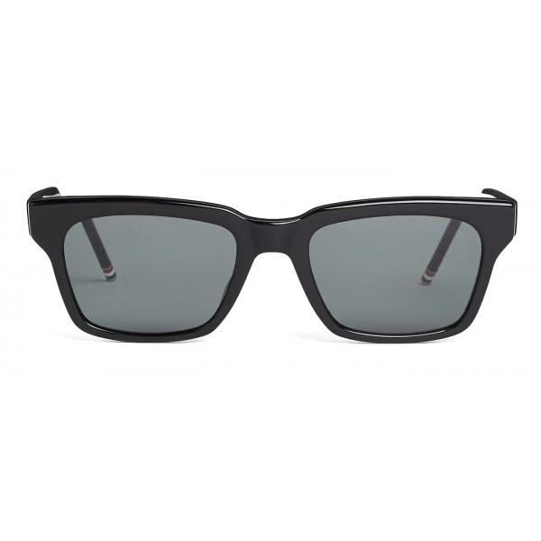 Thom Browne - Occhiali da Sole Wayfarer Neri - Thom Browne Eyewear