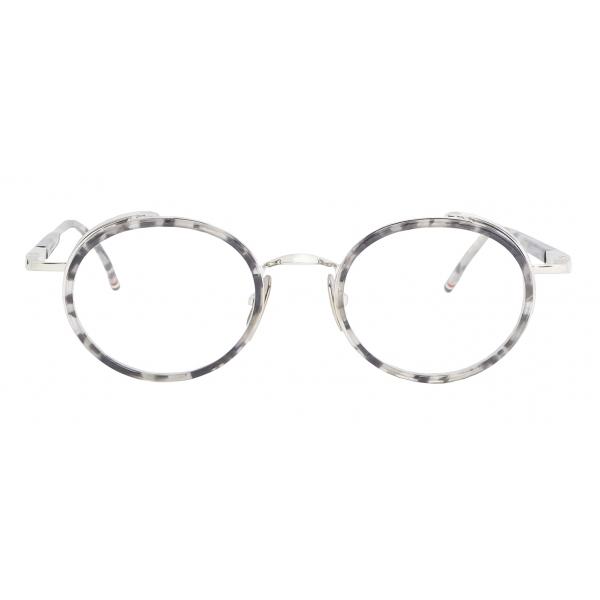 Thom Browne - Tortoise Round Sunglasses - Thom Browne Eyewear