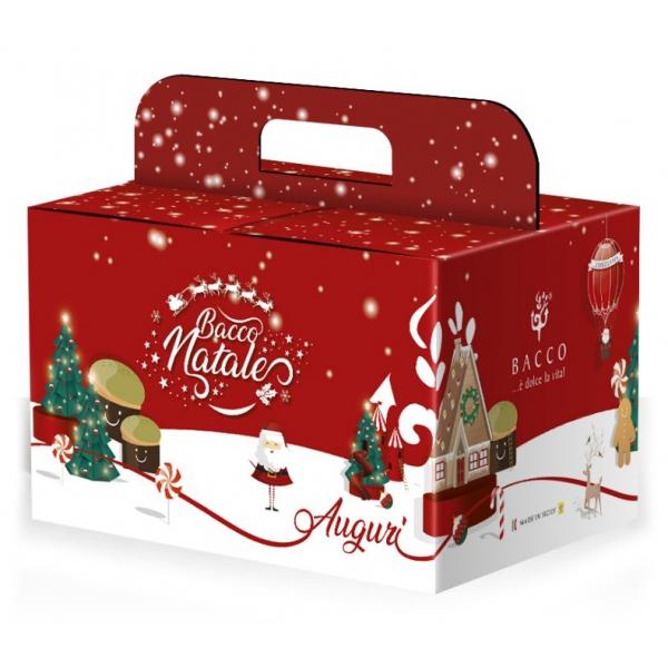 Bacco - Tipicità al Pistacchio - Box Auguri Bacco Piccola - Box Esclusiva - Idee Regalo - Prodotti Artigianali Italiani