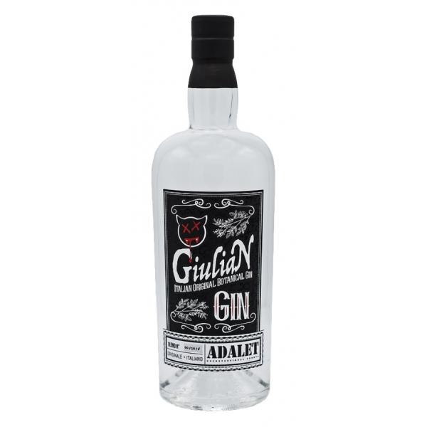 Zanin 1895 - GiuliaN Gin - Distilled - Adalet Unconventional Groove - Fabrizio Corona Official - Italian Original Botanical Gin