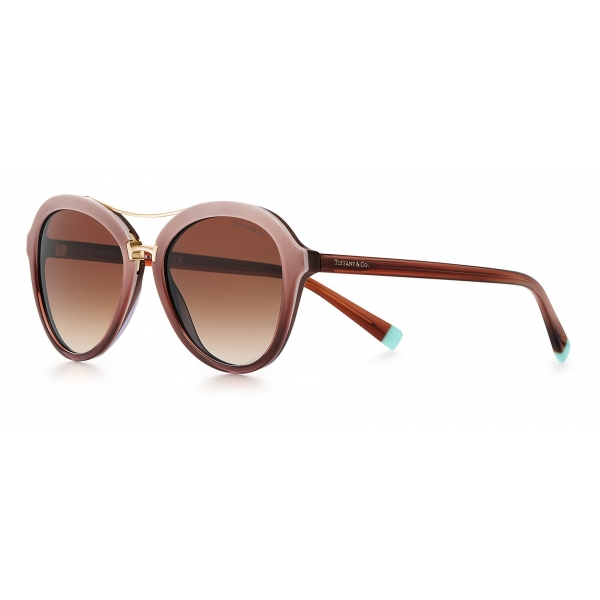 Tiffany & Co. - Pilot Sunglasses - Brown - Tiffany T Collection - Tiffany & Co. Eyewear