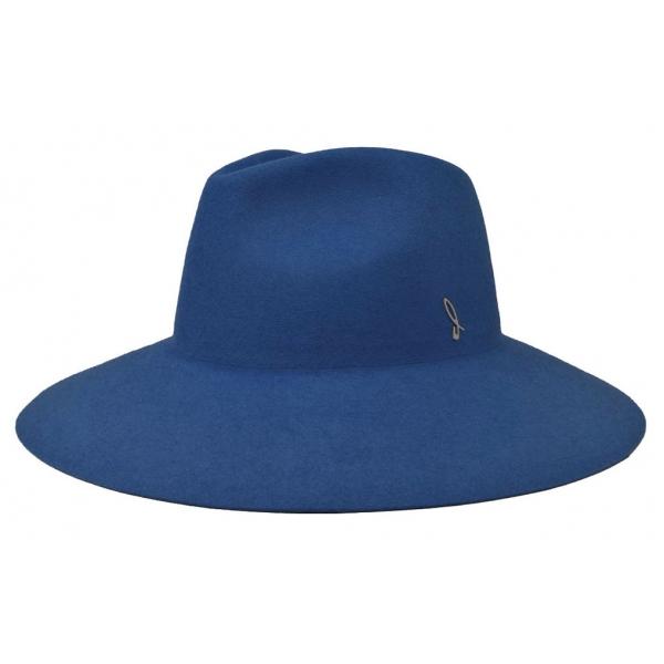 Doria 1905 - Ernest - Drop Hat Bluette - Accessories - Handmade Artisan Italian Cap
