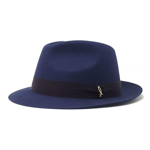 Doria 1905 - Droplet - Cappello a Goccia Blu Negroamaro - Accessori - Cappello Artigianale Italiano