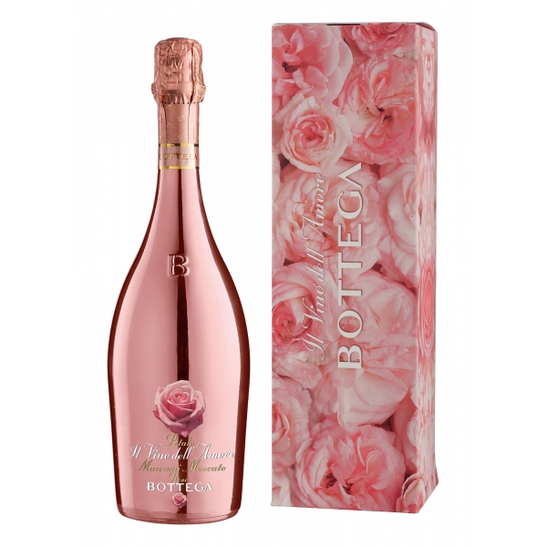 Bottega - Amore Rosa - Manzoni Moscato Rosè Spumante D.O.C. - Rose Love Limited Edition - Luxury Limited Edition Spumante