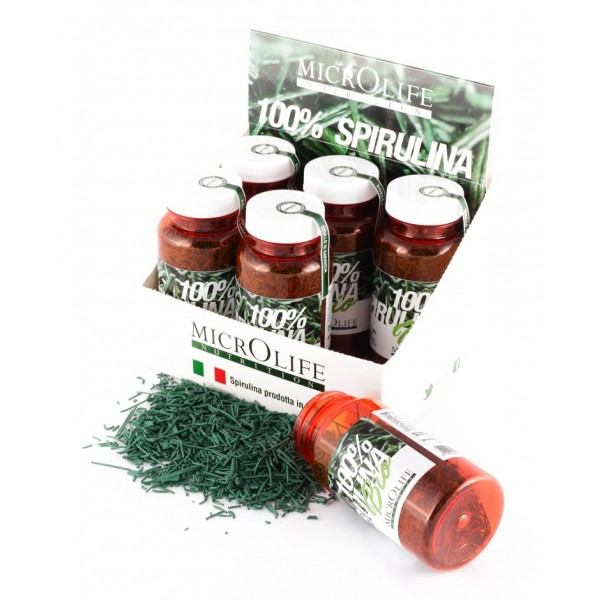 Microlife - Barrette Bio - Spirulina Biologica 100% Italiana