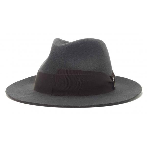 Doria 1905 - Jigen - Cappello a Goccia Waterproof Fumo Caffè - Accessori - Cappello Artigianale Italiano