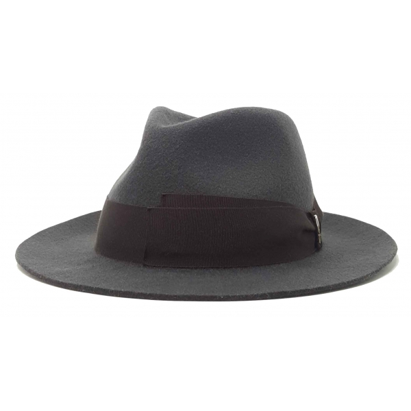 Doria 1905 - Jigen - Waterproof Drop Hat Smoke Coffee - Accessories - Handmade Artisan Italian Cap
