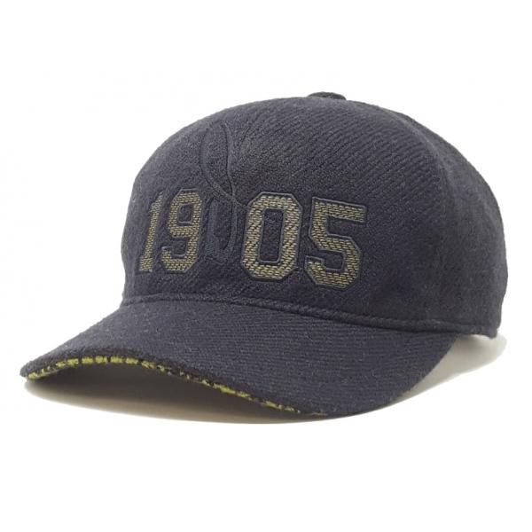 Doria 1905 - Joe - Baseball Cap Blue Green Cocoa - Accessories - Handmade Artisan Italian Cap