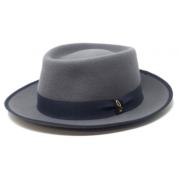 Doria 1905 - Lerici - Cappello Open-Drop Perla Scarabeo - Accessori - Cappello Artigianale Italiano