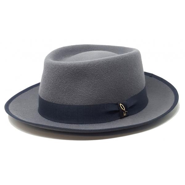Doria 1905 - Lerici - Open-Drop Hat Pearl Scarab - Accessories - Handmade Artisan Italian Cap