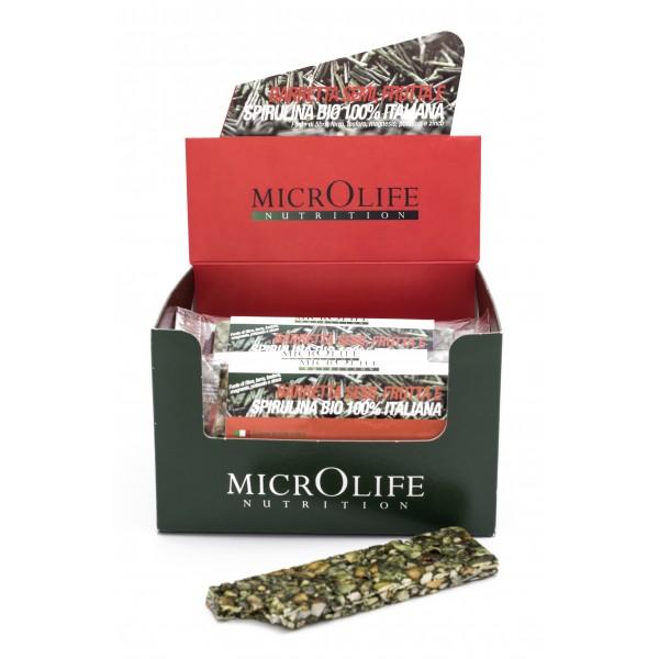 Microlife - Barrette Bio - 15 pz Barretta Semi, Frutta e Spirulina Bio 100% Italiana