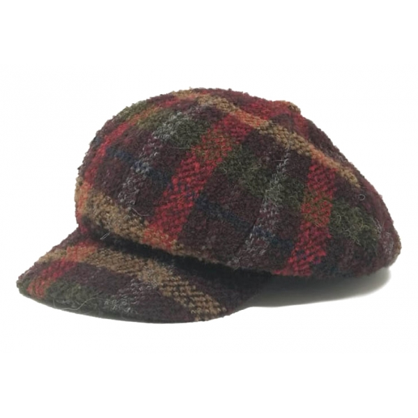 Doria 1905 - Matthew - Berretto a Spicchi Tartan Multicolor - Accessori - Cappello Artigianale Italiano