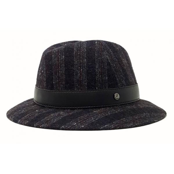 Doria 1905 - Paul - Hat Smoke Coffee Marine Black Moka - Accessories - Handmade Artisan Italian Cap