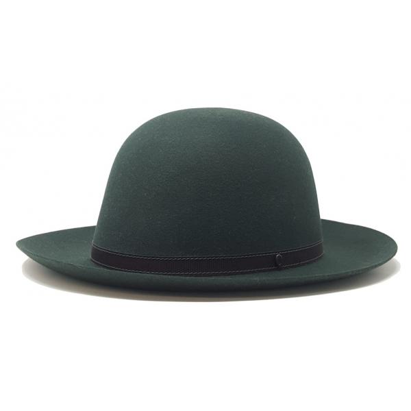 Doria 1905 - Roller - Roll Hat Green Negroamaro Wine - Accessories - Handmade Artisan Italian Cap