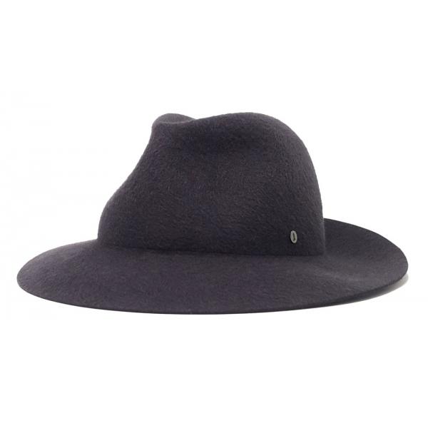 Doria 1905 - Saturno - Roller Hat Graphite - Accessories - Handmade Artisan Italian Cap
