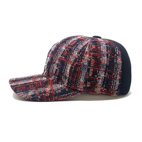 Doria 1905 - Svend - Berretto da Baseball Blu Rosso Bianco - Accessori - Cappello Artigianale Italiano