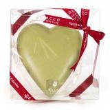 Bacco - Tipicità al Pistacchio - Cuore CiokkoBacco - Cioccolato Bianco al Pistacchio - Cioccolato Artigianale - 150 g