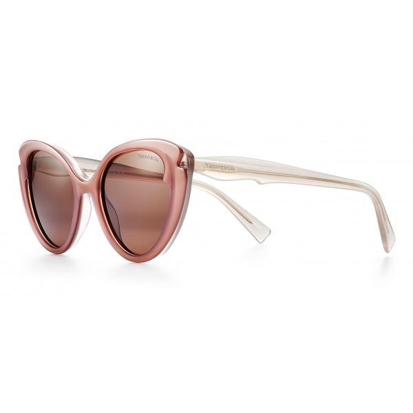 Tiffany & Co. - Cat Eye Sunglasses - Taupe Sand Brown - Tiffany Paper Flowers Collection - Tiffany & Co. Eyewear