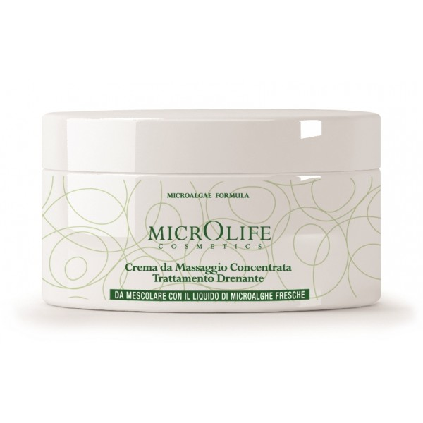 Microlife - Cosmetics - Concentrated Massage Cream for Drainage Treatment