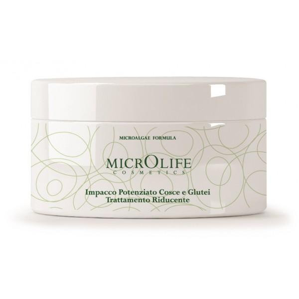 Microlife - Cosmetici - Impacco Potenziato Cosce e Glutei Trattamento Riducente