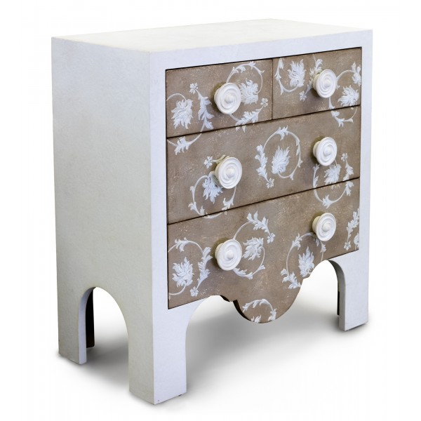 Porte italia interiors chest c rezzonico taupe for Porte italia