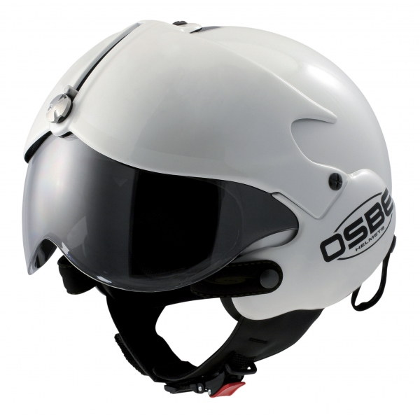 Osbe Italy - Tornado White Pearl - Motorcycle Helmet - High Quality - Made in Italy