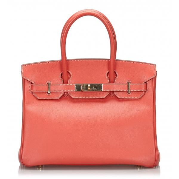 Hermès Vintage - Epsom Birkin 30 Bag - Pink - Leather and Calf Handbag - Luxury High Quality
