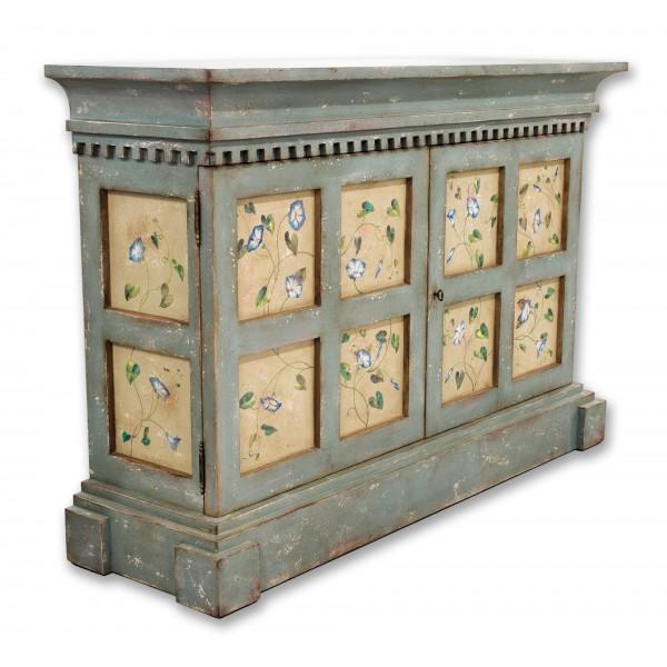 Porte Italia Interiors - Cabinet - Painted Venetian Cabinet