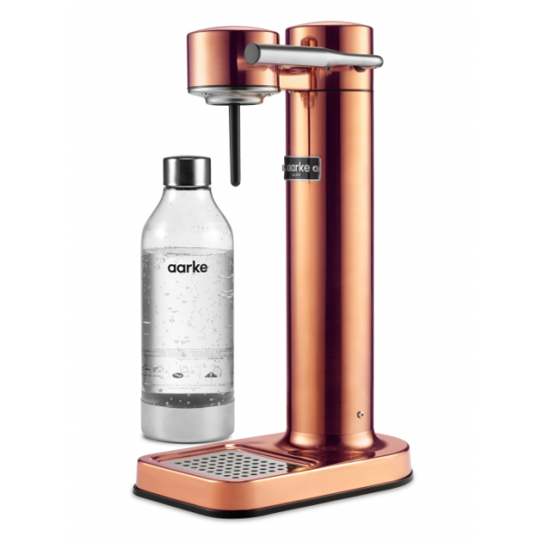 Aarke - Carbonator II - Aarke Sparkling Water Maker - Rame - Smart Home - Produttore di Acqua Frizzante