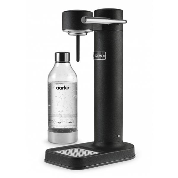 Aarke - Carbonator II - Aarke Sparkling Water Maker - Matte Black - Smart Home - Sparkling Water Maker