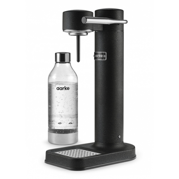 Aarke - Carbonator II - Aarke Sparkling Water Maker - Nero Opaco - Smart Home - Produttore di Acqua Frizzante