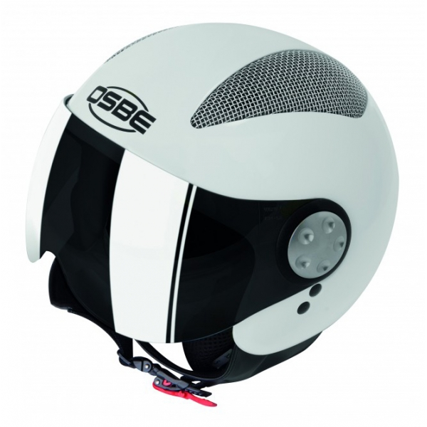 Osbe Italy - Summer White Pearl - Motorcycle Helmet - High Quality - Made in Italy