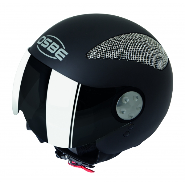 Osbe Italy - Summer Black Matt - Motorcycle Helmet - High Quality - Made in Italy