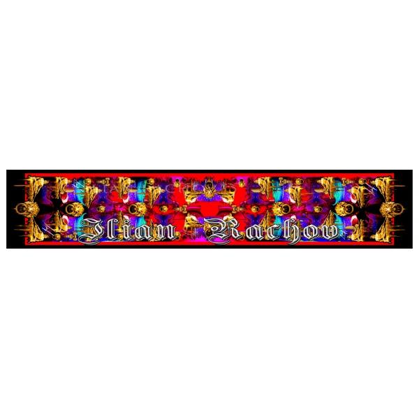 Ilian Rachov - Double Unisex Red Silk Scarf Roman Heroes - Baroque - Foulard in Seta - Alta Qualità Luxury