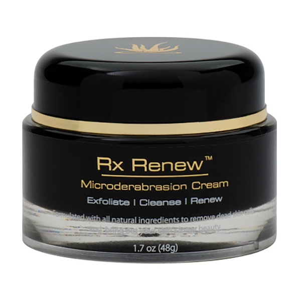 InfiniteAloe - Rx Renew - Microdermabrasion Cream - Luxury Organic Cream - Aloe Vera - Anti-Aging - Cruelity Free - 50 ml