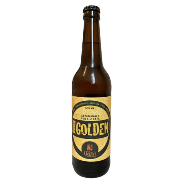 Ca' Verzini - Birrificio Agricolo - Golden Ale - Birra Speciale - Non Filtrata - Artigianale Italiana di Alta Qualità - 500 ml