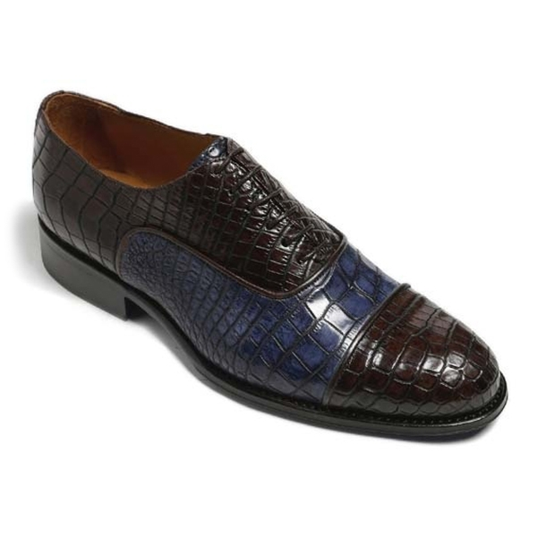 Vittorio Martire - Don Giovanni - Brown - Trendy Collection - Chrocodile - Italian Handmade Shoes - Luxury Leather