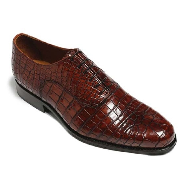 Vittorio Martire - Casanova - Brown - Trendy Collection - Chrocodile - Italian Handmade Shoes - Luxury Leather