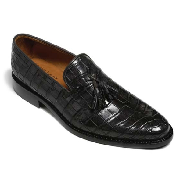 Vittorio Martire - Snob - Grey - Trendy Collection - Chrocodile - Italian Handmade Shoes - Luxury Leather